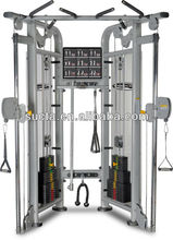 multi-functional trainer ,Professional Dual Adjustable Pulley Functional Trainer Gym fitness equipment / bodybuilding machine