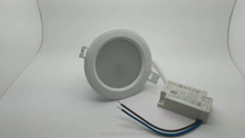 slicone ring waterproof ADC12 aluminum 2.5inch 10w dimmable SMD5630 Waterproof led downlight 10W