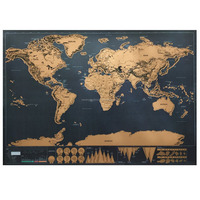 Hendry World Map Buy Scratch