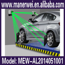New launch support android/window 8 system 3d wheel alignment and balancing machine