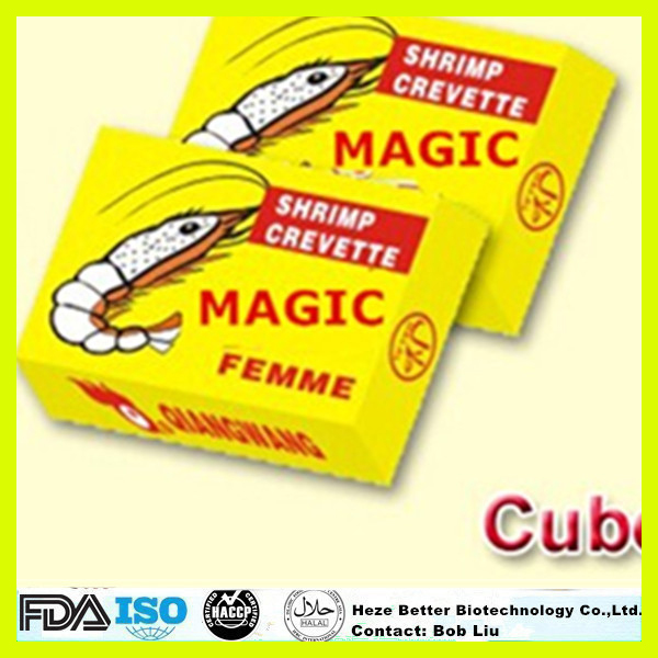 Hot Sale Chicken Shrimp Flavor Bouillon Cube, HALAL Seasoning Beef Powder Cubes, 4g 10g Stock Cube