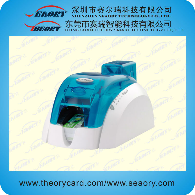 Evolis Pebble 4 thermal pvc card printer with Windows Vista, XP and 2003 Server drivers,Mac and Linux driver
