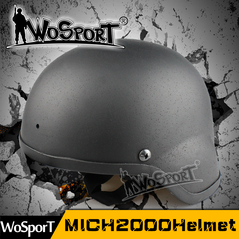 WoSporT Military MICH 2000 Tacticactical Combat Basic Helmet For Airsoft Paintball Movies Prop Cosplaal Airsoft Helmt Military