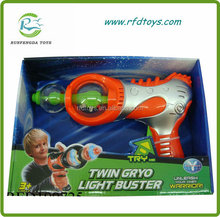 Wholesale b/o gun toy with light and music funny electronic gun