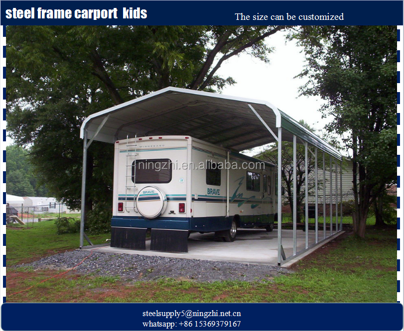 D i y portable rv carport kit rv storage buildings for for Rv garage kits for sale