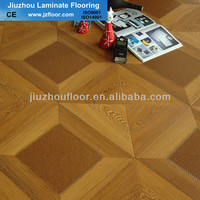 12mm square parquet laminate flooring