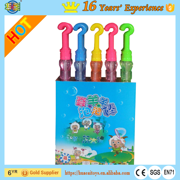 Soap Bubbles Wedding Umbrella Bubble Wand with PET Plastic Type
