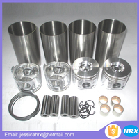 Forklift parts for Yanmar 4TNV98 engine cylinder liner kits