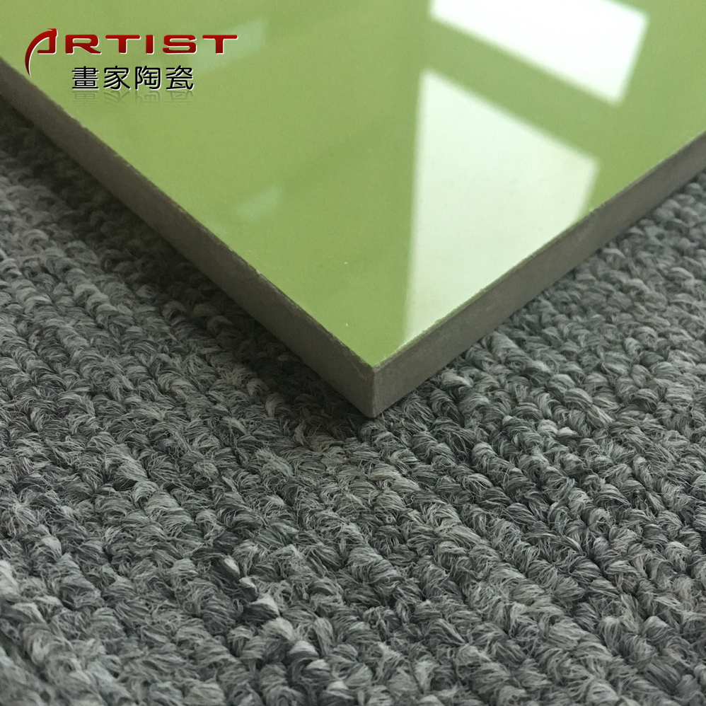 China Wholesale Bright Color Green Ceramic Tiles For Sale