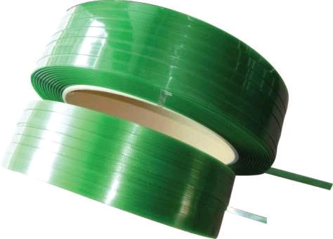 machine grade green embossed pet strapping band