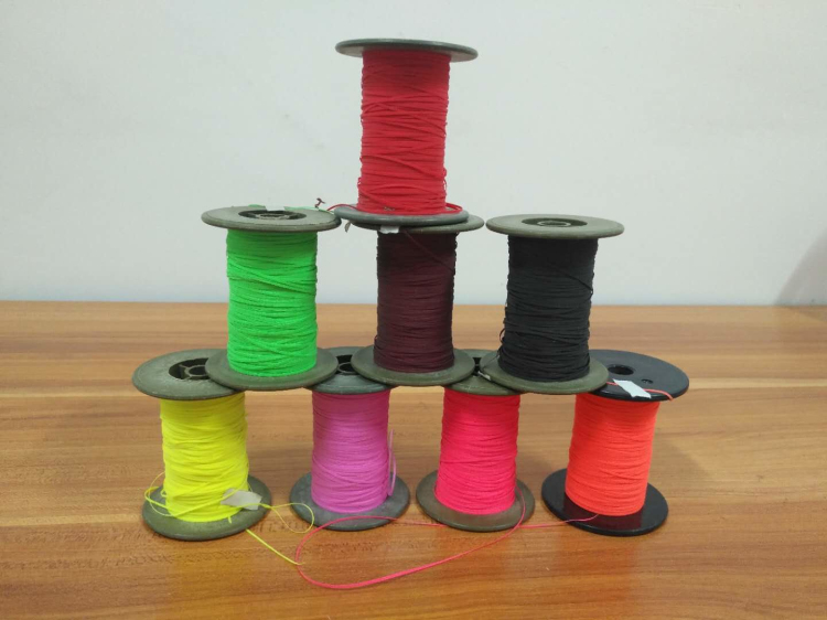 high visible double side machine knitting reflecting yarn