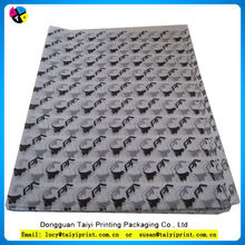 Custom decorative printed wrapping custom tissue paper