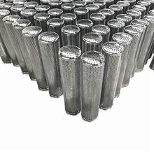 304 <strong>stainless</strong> steel exhaust perforated tube