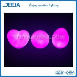 heart shaped bathtub valentine color changing light universal remote control