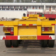 Chinese 20ft 40ft Skeleton Container Chassis Semi Trailer