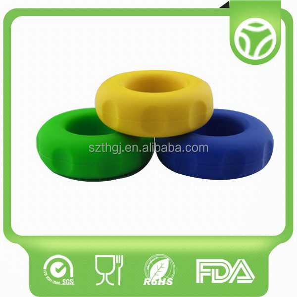 Design top sell silicone finger hand grip