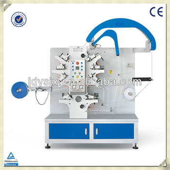 label printing machine/double side printing flexo polyester satin label printing machine JR1262