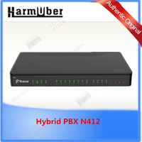 hotselling Yeastar N-Series Analog phone system Hybrid PBX N412 voip products