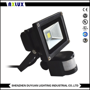 Economyip65 led flood light enclosure die cast aluminum led flood light SMD housing With Sensor 3 Years Warranty