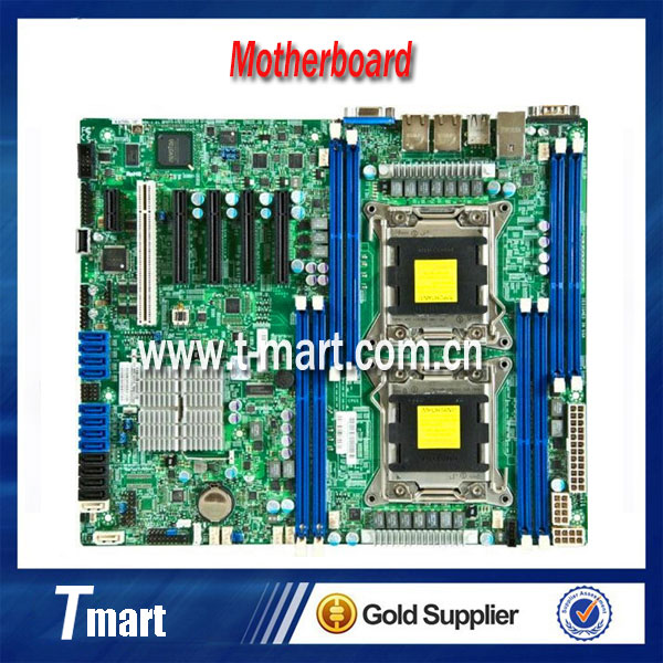 100% working server motherboard for SuperMicro X9DRL-IF LGA2011 C602 DDR3 system mainboard fully tested