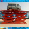 CE hydraulic electric fix vertical hydraulic lift platform