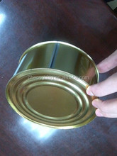 Wave bottom round tin can ii