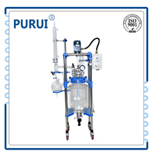 low price high quality glass chemical reactor