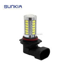 High Quality 9005 HB3 12V 5630 SMD 33 LED Xenon White Car Auto LED DRL Daytime Running Light Fog Light Lamp Projector Lens