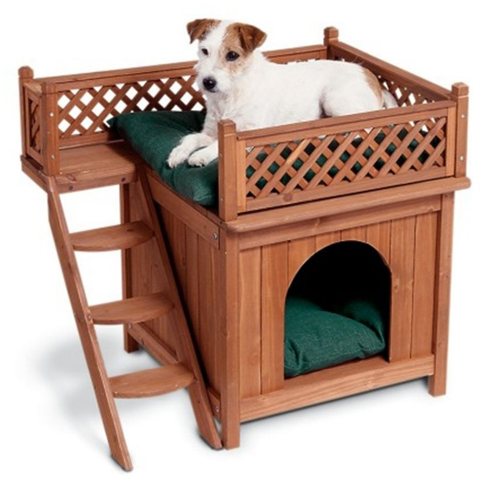 Hot Selling Outdoor Pet home Wood Dog House Wholesale