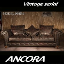 Furniture living room 3 seater luxury sofa set A127