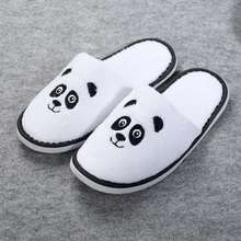 Lovely children cute panda shaped <strong>slippers</strong> wholesale