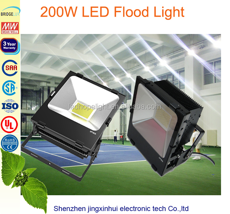waterproof SMD2835 sport stadium court lighting pier lights 200W
