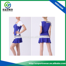 customize sports skirts,fashion combination tennis sets,wholesale women tennis skirts