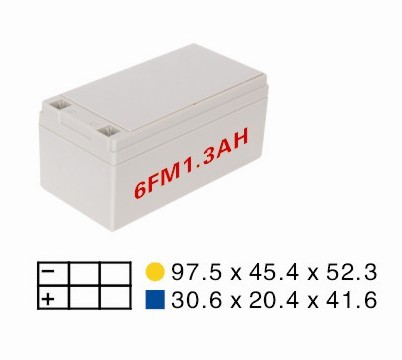 small 12volt battery plastic battery cases