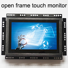 "Industrielle 7 ""display 1000 nits sonnenlicht lesbar lcd anti vandal touchscreen"