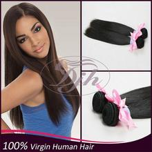 Hot Unprocessed Tangle Free white women human hair ponytail