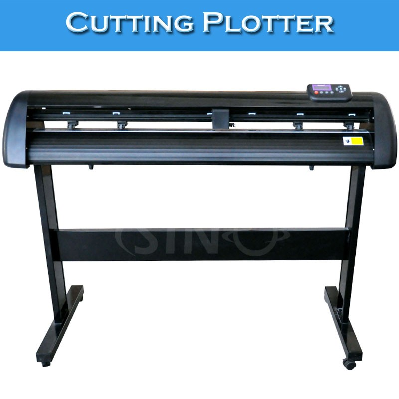 SINO 1100mm Stickers Cutting Plotters Computer Cutting Machine