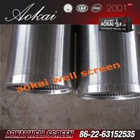 Promotion well screen E1326 tube/tubular filter well screen