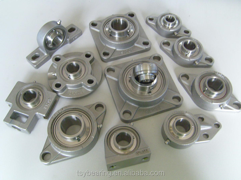 high quality square flange bearing UCF214