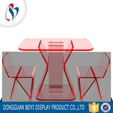 Wholesale Transparent Wedding Plastic Furniture For Table and Acrylic Chair