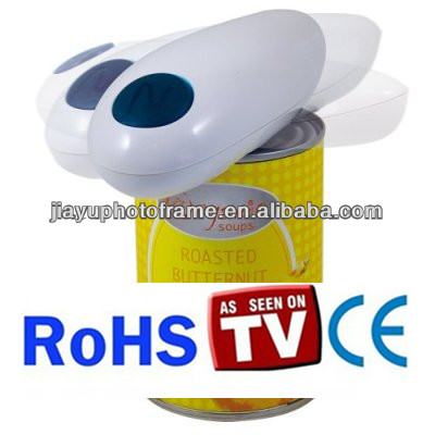 battery operated one touch electric can opener