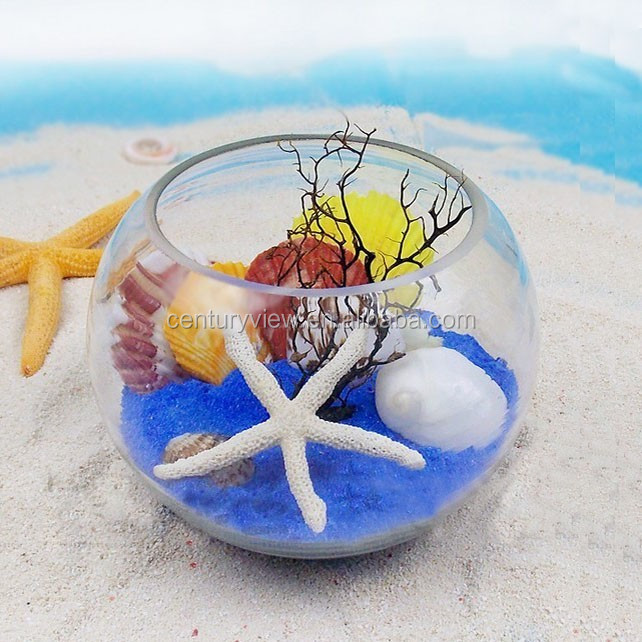 Wholesale clear fish shaped decorative glass fish bowls for Fish bowls in bulk