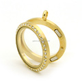 30mm custom make gold hot sale wholesale charm locket