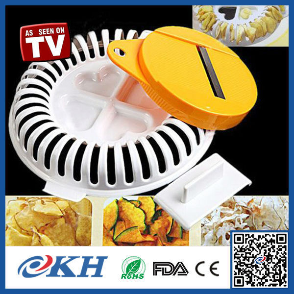 KH High Performance Easy Use Microwave Potato Chip Maker