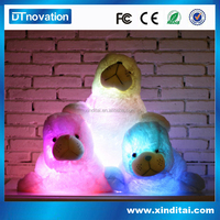 LED night light and talking toy animals with stuffing machine for sale