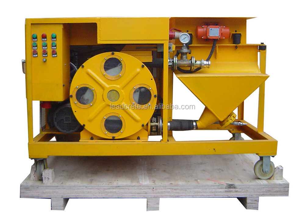 LH38ME New Technology Automatic Wall Cement Plaster Render Machine
