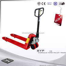 Hot Sale SHANYE pallet hand truck armored trucks for sale