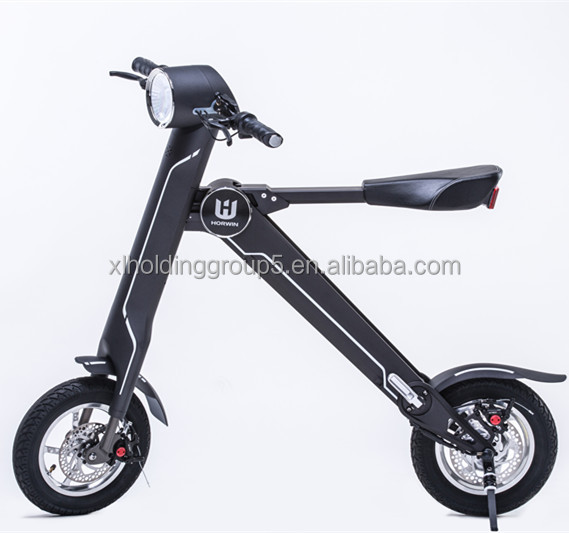 Horwin 12 inch folding bike Foldable handlebar lehe <strong>k1</strong> folding electric bike for adults to use after drinking 18kg