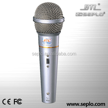professional dynamic singing wire microphone KS-1058 ,bus microphon , cheap microphone