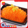 Gold supplier black green dried frozen flying fish roe tobiko